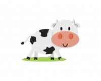 Black And White Spot Cow5_5 inch