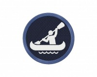 Canoeing Icon 5 inch