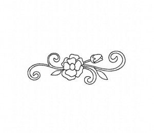 Flower-Spray-Outline-(Z)-5_5