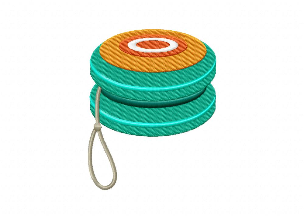 Kid Toy Yoyo Includes Both Applique And Stitched Daily