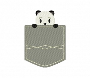 Pocket Panda Stitched 5_5