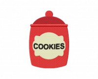 Red Cookie Jar Stitched5_5