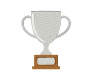 Silver Trophy Stitched 5_5 Inch