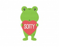 Sorry Frog 5_5 inch
