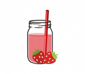 Strawberry Juice Jar Stitched 5_5