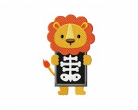 X-Ray Lion Stitched 5_5