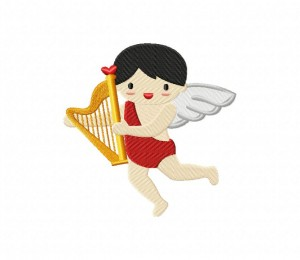 Cupid with Harp (Z)-5