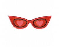 Love-Sunglasses-Retro-Applique-5x7