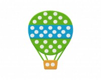 Polka Dot Hot Air Balloon Stitched 5_5