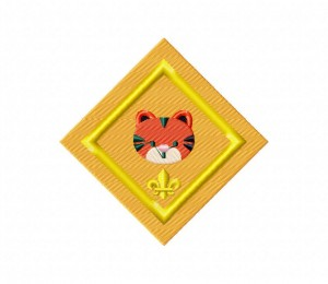 Tiger Badge Stitched 5_5