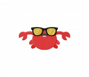 Crab Shades Stitched 5