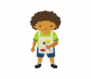 Pottery Painting Kid  5_5 inch