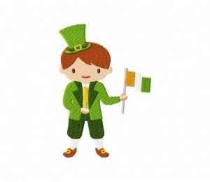 Shamrock Irish Boy 5_5 inch