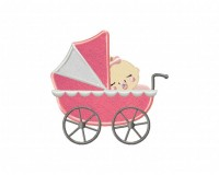 Baby-Girl-Stroller-(Z)-Applique-5x7