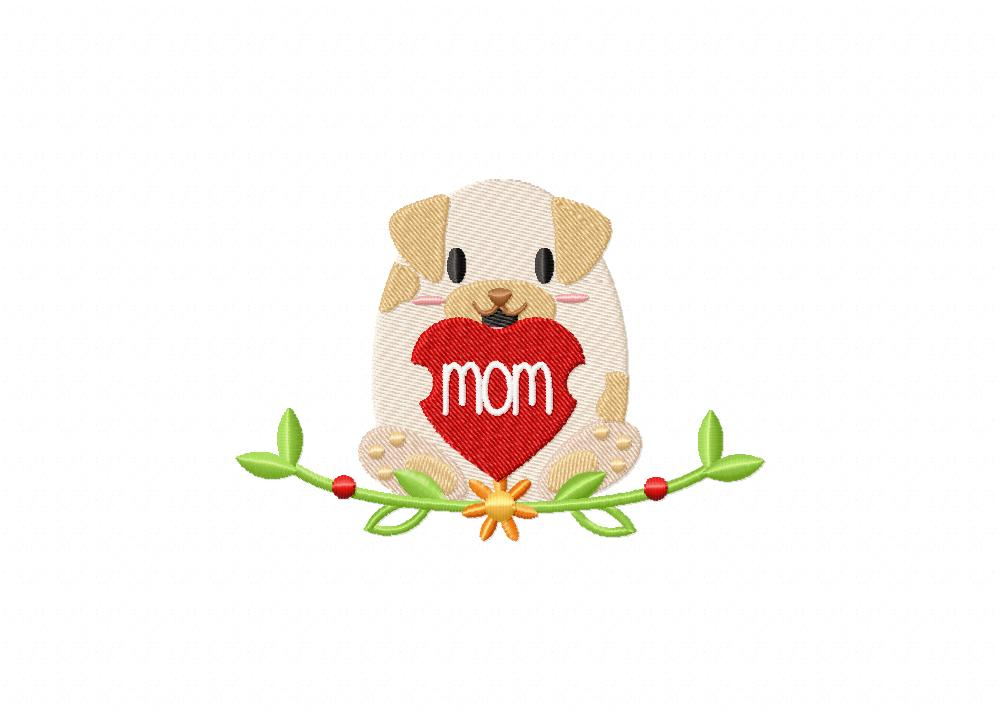 Moms Day Pup 5_5 inch