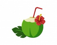 Refreshing Coconut Drink  5_5 inch