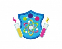 Science Crest 5_5 inch