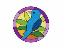 Stained Glass Bird (Z)-5_5