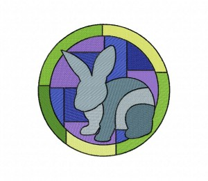 Stained Glass Bunny (Z)-5_5
