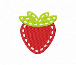 Stitched Strawberry Stitched 5