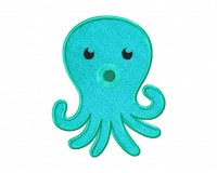 Colorful-Green-Octopus-Applique-5x7