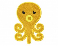 Colorful-Orange-Octopus-Applique-5x7