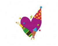 New Year Heart 5_5 inch