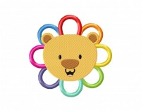 Rainbow Lion Flower  5_5 inch