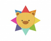 Rainbow Lion Star  5_5 inch