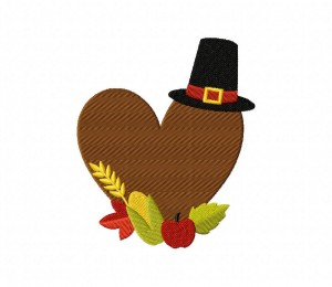 Thanksgiving Heart 5_5 inch