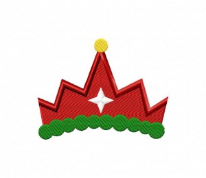 Christmas Crown 5_5 inch