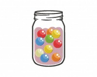 Gum Ball Jar (Z)-5_5