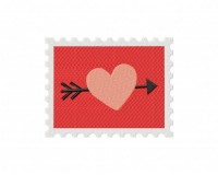 Stamp Arrow Heart 5_5 inch