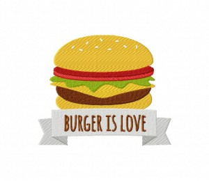BurgerIsLoveBurger is Love 5_5 inch