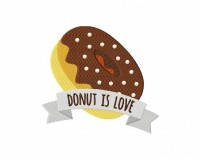 DonutIsLoveDonut is Love 5_5 inch