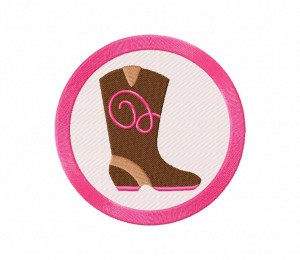 Pink Cowgirl Boot 5_5 inch