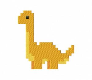 Pixel Dino Bront 5_5 inch