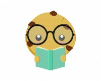 Smart Cookie Bookworm  5_5 inch