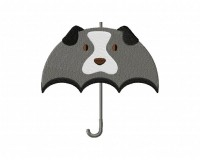 Dog Umbrella Stitched 5_5 Inch