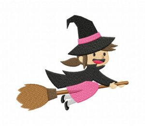 Halloween-Cute-Witch-01-Stitched-5_5-Inch