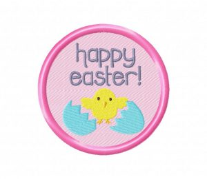 Happy Easter Chick 5_5 in