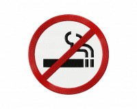 No Smoking 5_5 inch