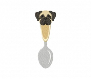 Puppy Spoon 5_5 inch