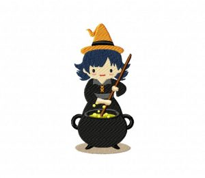 Witch Mixing Cauldron 5_5 inch
