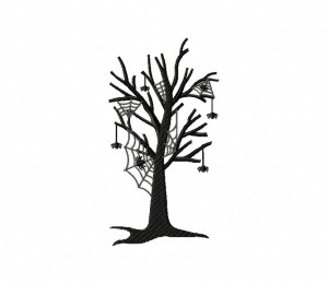 Spooky Spider Tree 5_5 inch