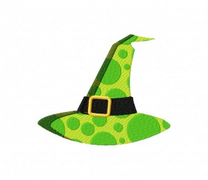 Witch Hat Dots 5_5 inch