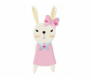 Dressed Rabbits-02 Stitched 5_5 Inch