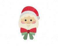 Santa-Claus-Ornament-02-Stitched-5_5-Inch