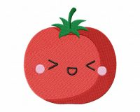 Kawaii Vegetables-08 Stitched 5_5 Inch