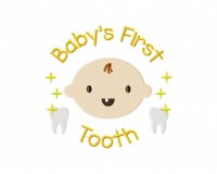 Baby's First Tooth 5_5 inch